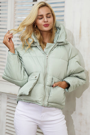 Winter Padded Hooded Coat Parka