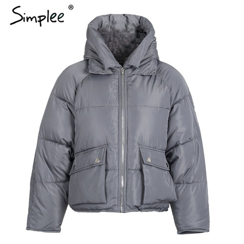 Winter Padded Hooded Coat Parka - Milestonebuy