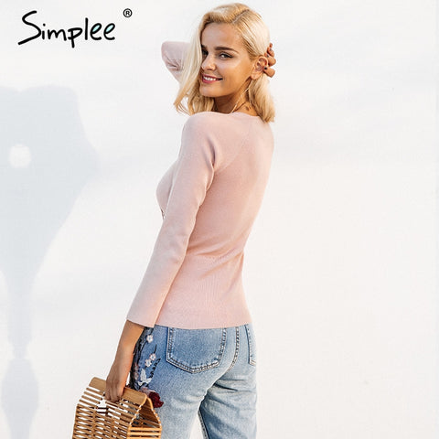 Slim Skinny Winter Sweater - Milestonebuy