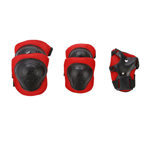 SET 6 PROTECTIONS FLASH ROLLER SKATE TROTTINETTE