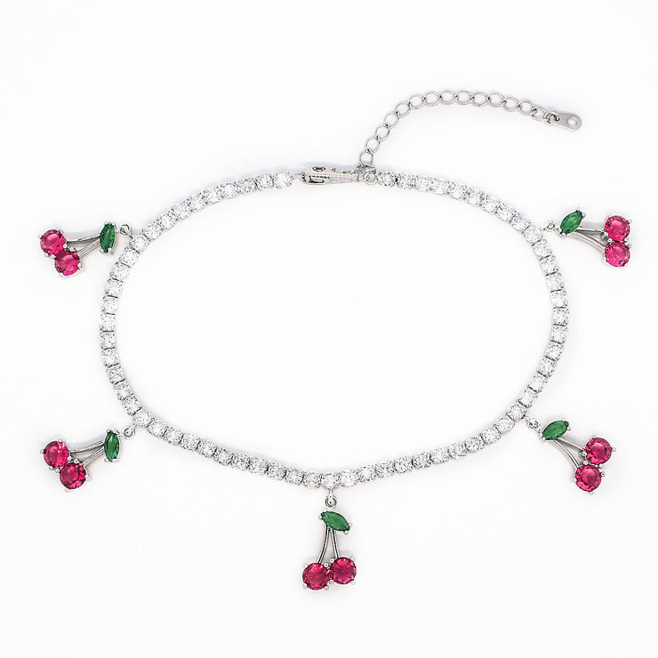 silver anklets for women