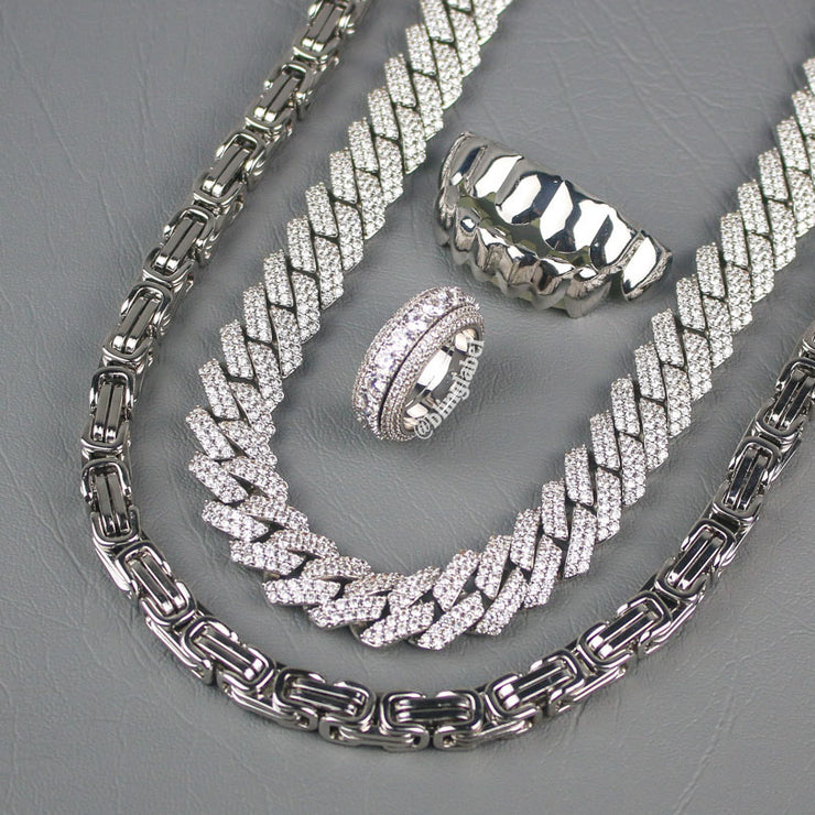 The OG Bundle Set in White Gold
