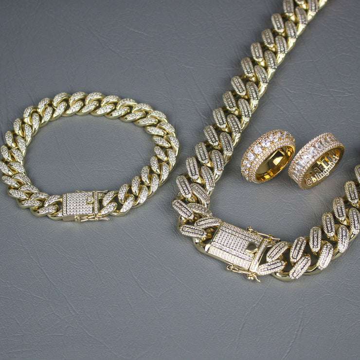 KING Bundle Set in Gold