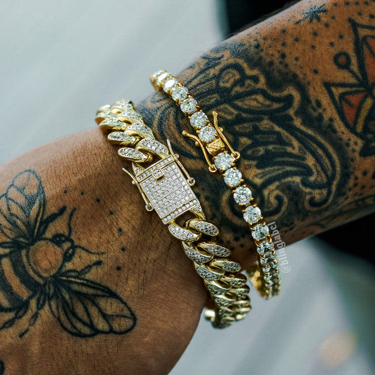 Boss Bracelet Bundle in Gold