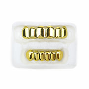 18K Gold Plated Grillz Set