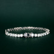 5mm Tennis Bracelet in White Gold