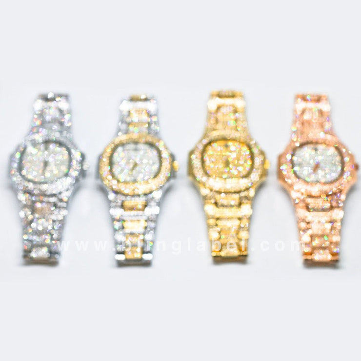 BLING LABEL™ Premium Iced Out Watch (Limited Edition)