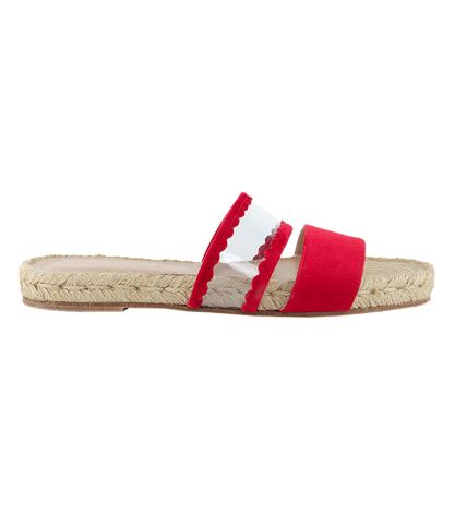 STRIPE ESPADRILLE real fox