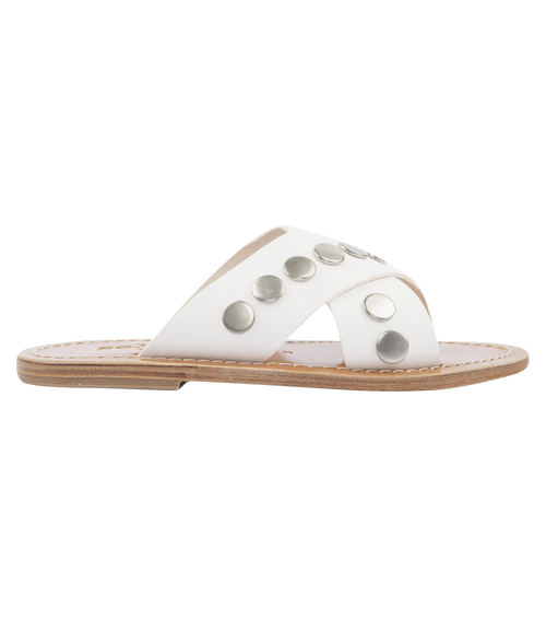 ARIS STUDS SANDALS FT WIDE CRISSCROSS SUPPORT STAPS