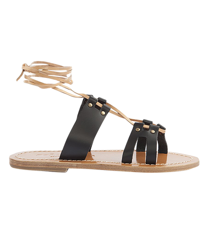 PATMOS CRISSCROSS SANDALS FT ANKLE TIES