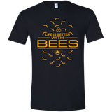 Life Is Better With Bees Men's T-shirt