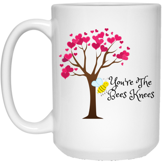 Mug-Knees Bees 15 oz Mug