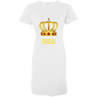 Life is Better With - Ladies Queen Bee Nightshirt/Cover-Up
