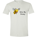 Life Is Better With - He's My Honey Men's T-shirt