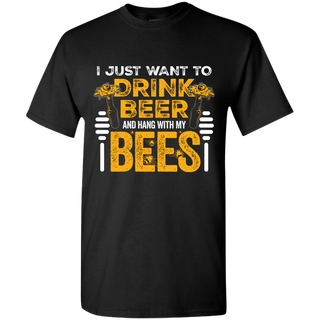 Bee & Beer T-shirt Men & Ladies
