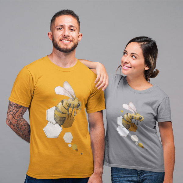 Honey Bee T-shirt Mens & Ladies