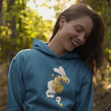 Ladies-Mind Your Beeswax Hoodie