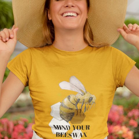 Women Honey Bee T-shirt