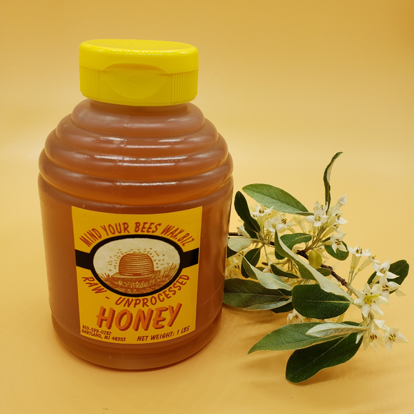 Michigan Wild Flower Honey 1 Lb Skep