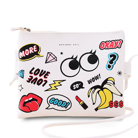 Graffiti Mini Crossbody Bag