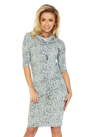 Light Gray Sports Dress with Binding