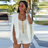 Split Sleeve Cardigan Coat