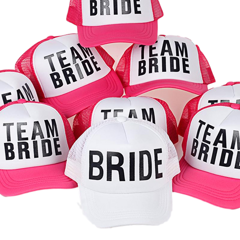 Bride and Bachelorette Hats