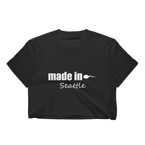 Made in Seattle Crop Top