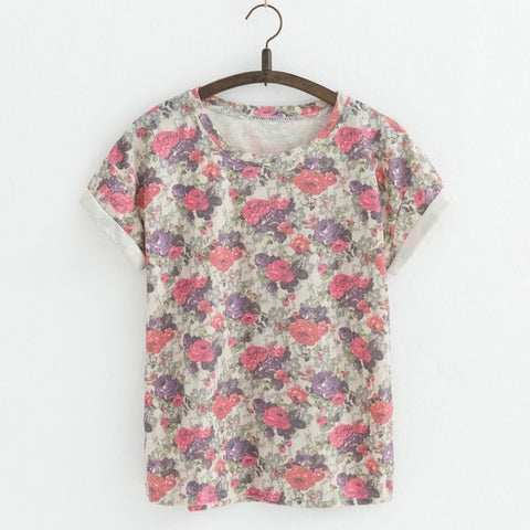 The Artsy Super Floral Tee