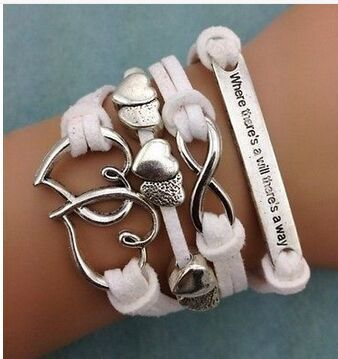 Multi-Layer Double Heart Bracelet