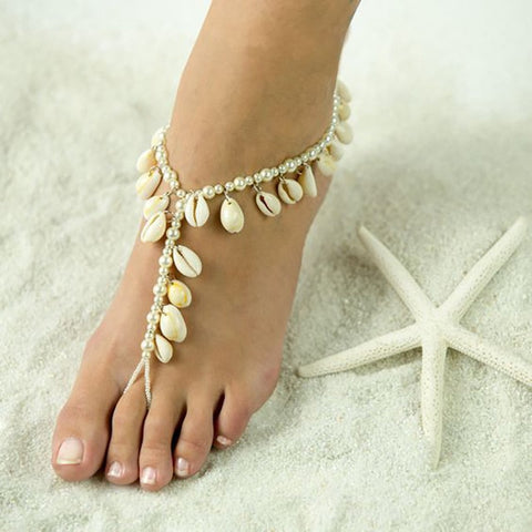 Casual Sea Shell Foot Jewelry