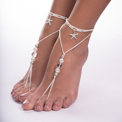 Sea Shell Chain-in Anklet