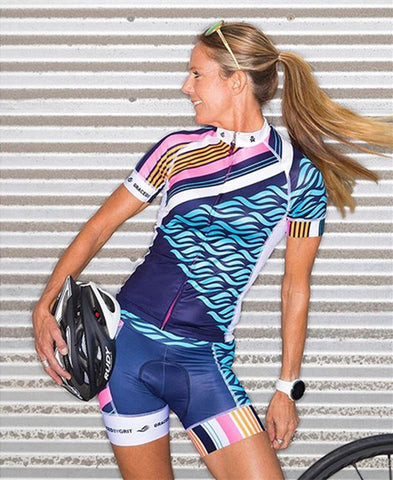 Short Sleeve Cycling Set, Color - sets 2