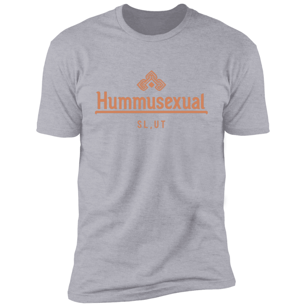 Hummusexual T-Shirt (PINK TEXT)
