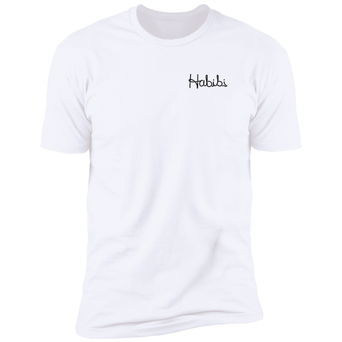 Habibi T Shirt (BLACK TEXT)