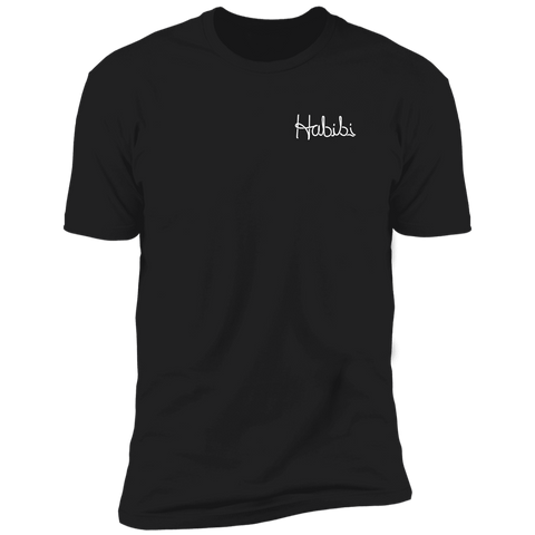 Habibi T Shirt (WHITE TEXT)