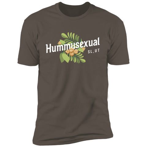 Hummusexual T-Shirt - Original (WHITE TEXT)