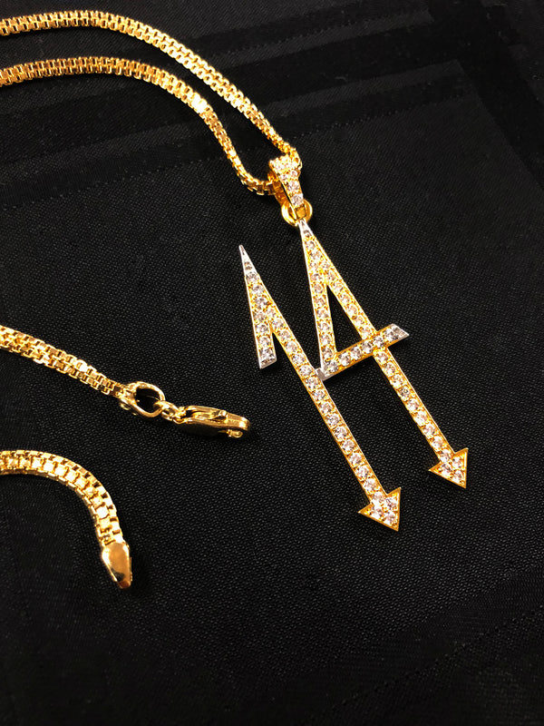 14 Diamond Pendant & Chain