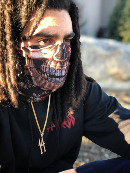 Trippie Skull Face Mask
