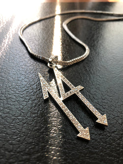 Iced 14 Diamond Pendant