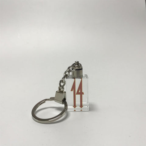 Big 14 Crystal LED Keychain