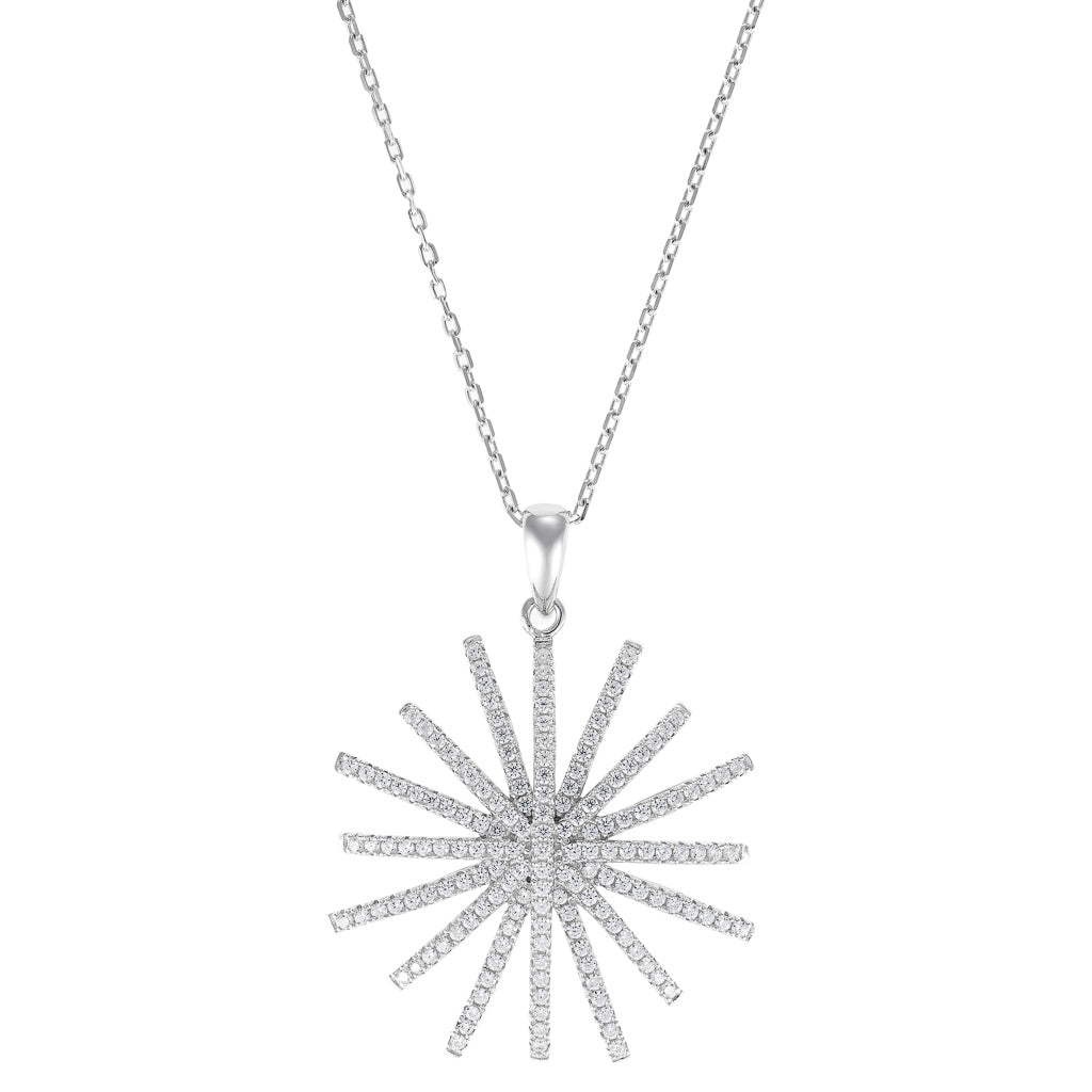 house white harlow collections bijoux collection embossed pendant of closet products full necklace sand sunburst gold