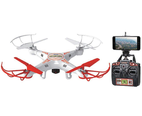 World Tech Toys 2.4Ghz Striker Spy Drone Video/Picture 4.5 Channel RC Quadcopter - WarehouseSpot