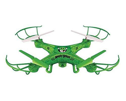 Angry Birds Licensed 4.5-Channel 2.4 GHz Remote Control Camera Drone Squak-Copter - The Pigs - WarehouseSpot