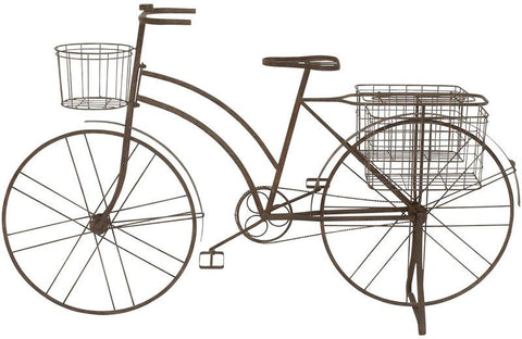 "UMA Inc Mtl Bicycle Planter, 63""W, 39""H - Peazz.com"