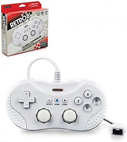 Wii U Classic Wired Controller - White (RB-NES-7475)
