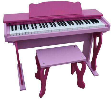 Schoenhut 6100PP My First Piano Tutor Pink - Peazz.com