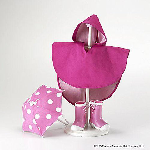 Madame Alexander 70485 Rain Accessories Doll - WarehouseSpot