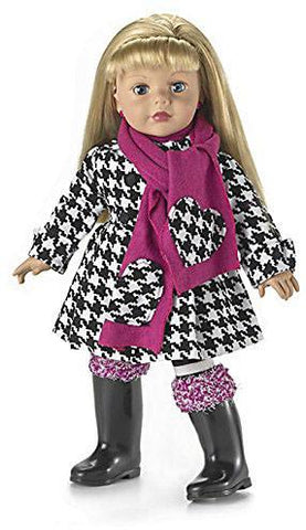 Madame Alexander Dressed in Houndstooth Doll - Peazz.com
