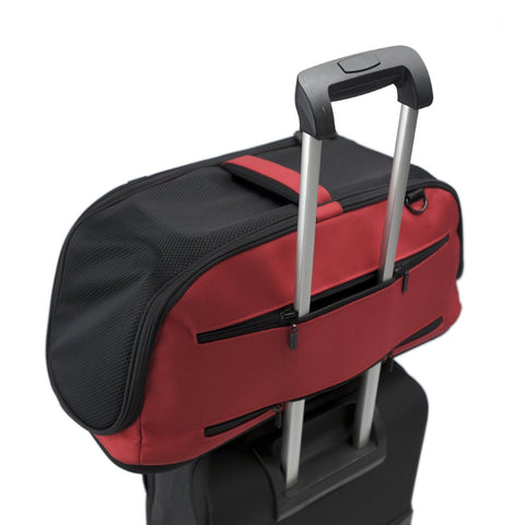 Sleepypod Air AI-RED In-Cabin Pet Carrier (Strawberry Red) Medium - Peazz.com - 5